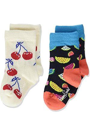 2er Pack Happy Socks Unisex Baby Socken,