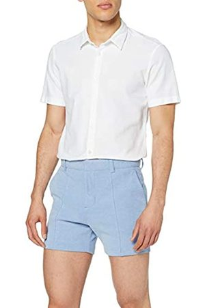 New Look Men's Smart Pique Slim Shorts