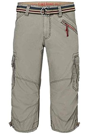 Timezone Men's Loose Milestz 3/4 Cargo Incl. Belt Short