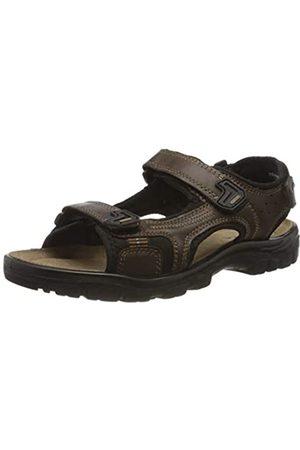 Rohde Men's Matera Ankle Strap Sandals, (Espresso 71)