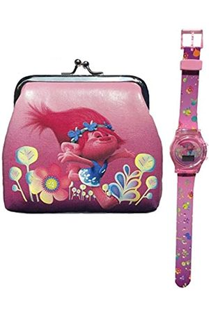 Trolls Children's Digital Quartz Watch with Plastic Strap TROL4