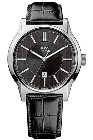 HUGO BOSS Men's Quartz Watch ARCHITECTURE ROUND 1512911 with Leather Strap