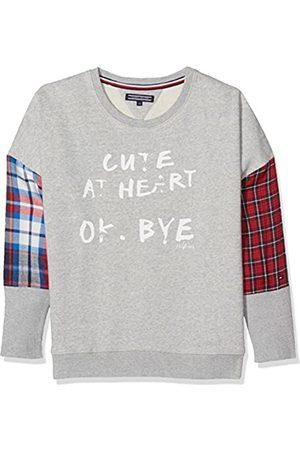 Tommy Hilfiger Girl's Check Mix CN HWK L/S Sweatshirt