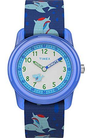 Timex Kid's Analog 28 mm Elastic Fabric Strap Watch TW7C13500