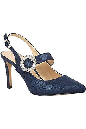 Lotus Women's Mishka Closed Toe Heels, (Navy De)