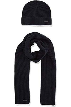 Strellson Premium Men's Stbox-Lenny Scarf, Hat & Glove Set