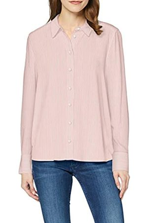 Tommy Hilfiger Women's Danee Blouse LS, (Yd We STP/ Grapefruit 03F)