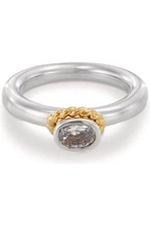PANDORA 19830Cz-58 Silver Ring Size Q.5