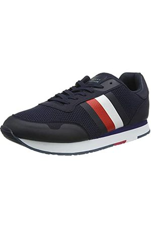 Tommy Hilfiger Men's Corporate Material Mix Runner Low-Top Sneakers, (Desert Sky Dw5)