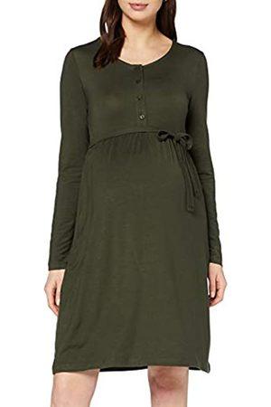 Mama Licious Women's Mlshana Lia Ls Jersey Abk Dress Combi