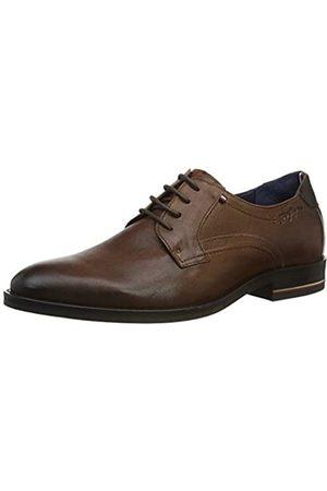 Tommy Hilfiger Men's Signature Hilfiger Leather Shoe Mocassins, (Desert Khaki Gwj)