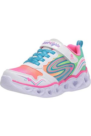 Skechers Girls' Heart Lights Love Spark Trainers