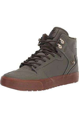 Supra Unisex Adults' Vaider Cold Weather Skateboarding Shoes, (Olive-M 248)