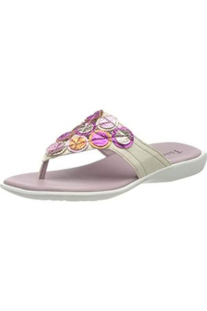 Think! Women's 686555_GRIAWI Flip Flops, (Ivory/Multi 98)