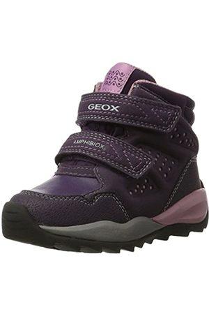 Geox Girls' J Orizont B Abx F Snow Boots, (Violet)
