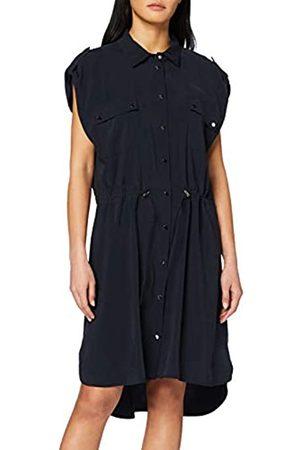 Apart Women's Trenchcoat Dress Nachtblau