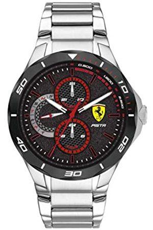 Scuderia Ferrari Men's Analogue Quartz Watch with Stainless Steel Strap 0830726
