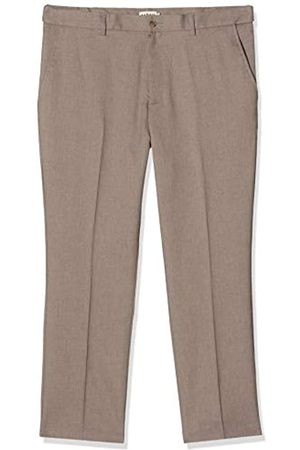 Farah Classic Men's Roachman Trousers, (Dark Taupe)