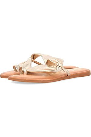 GIOSEPPO Women's Keene Open Toe Sandals, (Oro Oro)