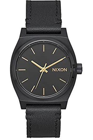 Nixon Women's Analogue Quartz Watch with Leather Strap A1172-001-00