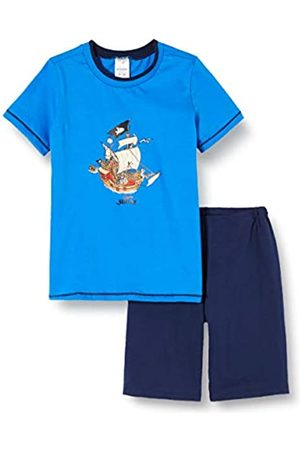 Schiesser Boy's Capt´n Sharky Kn Schlafanzug Kurz Pyjama Set, 800