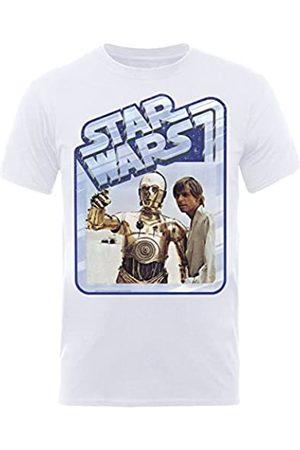 Star Wars Men's C3Luke Short Sleeve T-Shirt