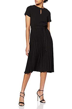 Dorothy Perkins Women's Wrap Pleated Midi Dress