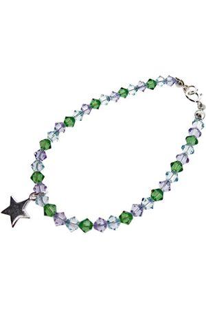 Chic A Boo Children's Sterling Star and Swarovski Crystal 6 Inch Bracelet