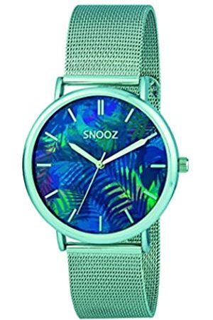 Snooz Men's Analogue Quartz Watch with Stainless Steel Strap Saa1042-73
