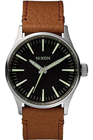 Nixon Men's Analogue Quartz Watch with Leather Strap - A3771037-00
