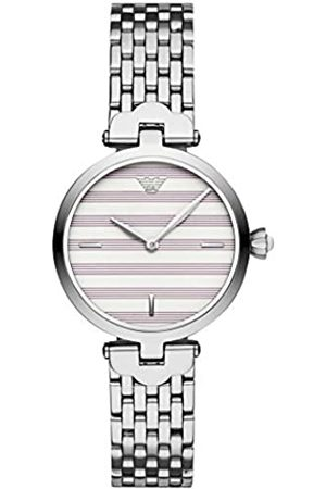 Emporio Armani Womens Analogue Quartz Watch with Stainless Steel Strap AR11195