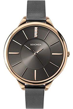 Sekonda Womens Analogue Classic Quartz Watch with Stainless Steel Strap 2597