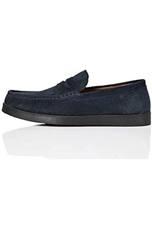 FIND Amazon Brand - Men's Loafers, (Navy/ )