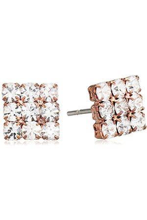 Love Affaire Women's Stud Earrings Rhodium-Plated Brass 2-20 3000 50