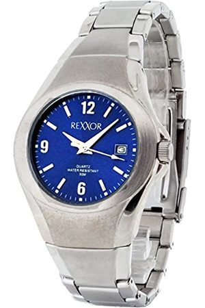Rexxor Men's Quartz Watch with Quartz Watch with Dial Analogue Display and Stainless Steel Bracelet 242-7105-98