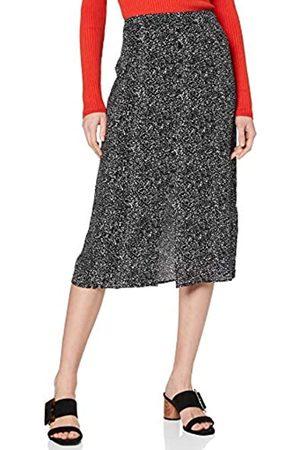 Warehouse Women's Random Drop Midi Skirt