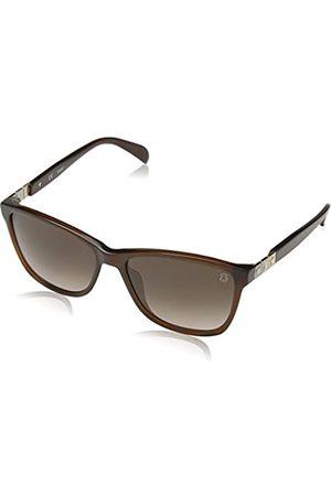 TOUS Women's's Sto902 Sunglasses Shiny Transparent )