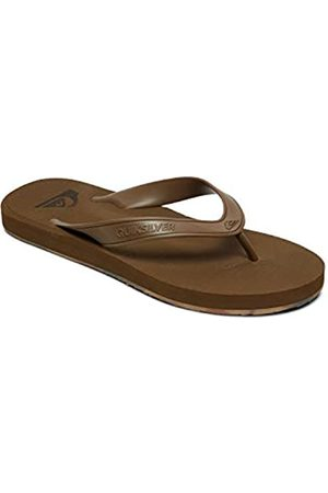 Quiksilver Men's Carver Ii Deluxe Beach & Pool Shoes, (Tan-Solid Tkd0)