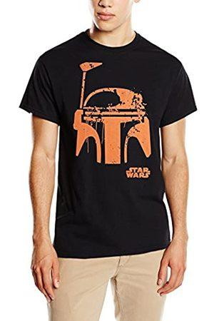 Star Wars Men's Halloween Boba Fett Face T-Shirt