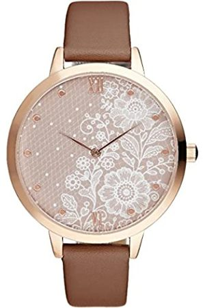 Charlotte Raffaelli Unisex-Adult Analogue Classic Quartz Watch with Stainless Steel Strap CRR005