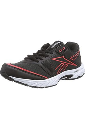 Reebok Adults' Triplehall 4.0 Competition Running Shoes (Nero/Rosso) 3.5 UK