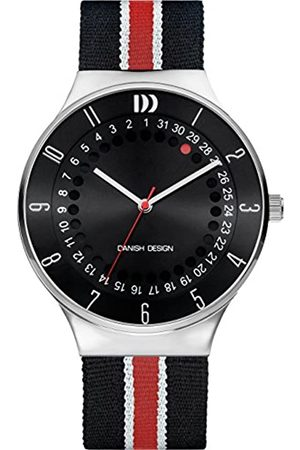 Danish Designs Danish Design Men's Quartz Watch with Dial Analogue Display and Fabric and Canvas Strap DZ120584
