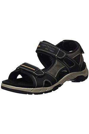Tom Tailor Men's 8082201 Ankle Strap Sandals, ( 00001)