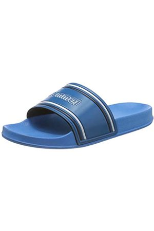 hummel Unisex Adults' Pool Slide Retro Beach & Pool Shoes, ( Aster 8378)