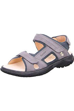 Ganter Men's Giovanni-g Closed Toe Sandals, (Graphite/ 6332)