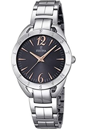 Festina MADEMOISELLE Women's Quartz Watch with Dial Analogue Display and Stainless Steel Bracelet F16932/2