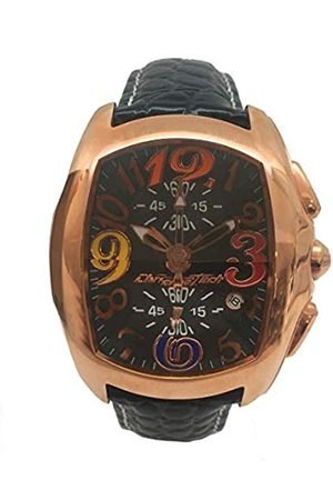 ChronoTech Men's Analogue Quartz Watch with Leather Strap CT7895M-65