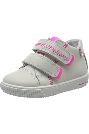 Superfit Baby Girls' Moppy Trainers, (Weiss/ROSA 10)