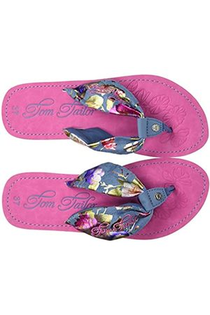 TOM TAILOR Girls' 8070404 Flip Flops, ( 00190)
