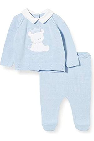 chicco Baby Boys' Completo Bimbo 2 Pezzi in Tricot: Coprifasce + Ghettina Playsuit